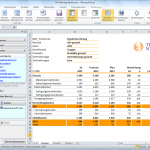 Screenshot des TN Excel-Addins