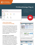 Flyer: MicroStrategy Plug-in