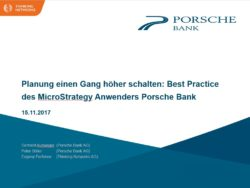 vortrag porsche bank micorstrategy symposium